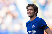 Chelsea's Marcos Alonso <br /> <br /> Photographer Craig Mercer/CameraSport<br /> <br /> The Premier League - Chelsea v Liverpool - Sunday 6th May 2018 - Stamford Bridge - London<br /> <br /> World Copyright &copy; 2018 CameraSport. All rights reserved. 43 Linden Ave. Countesthorpe. Leicester. England. LE8 5PG - Tel: +44 (0) 116 277 4147 - admin@camerasport.com - www.camerasport.com