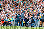 Dublin Manager Jim Gavin during the GAA Football All-Ireland Senior Championship Final match between Kerry and Dublin at Croke Park in Dublin on Sunday.