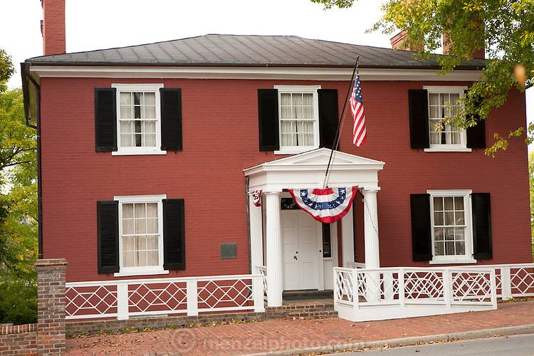 Staunton, Virginia. Shenandoah Valley. President Woodrow Wilson's birthplace.