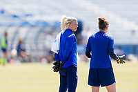 Santa Barbara, CA - March 30, 2019: The USWNT trains in preparation for an international friendly.