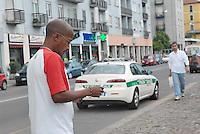 - Milan, immigrants in Padova street....- Milano, immigrati in via Padova