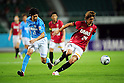 Yuki Kobayashi (Jubilo), Genki Haraguchi (Reds),..JULY 17, 2011 - Football :..2011 J.League Division 1 match between Jubilo Iwata 1-1 Urawa Red Diamonds at Ecopa Stadium in Shizuoka, Japan. (Photo by AFLO)