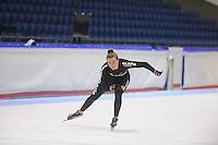 SCHAATSEN: HEERENVEEN: 22-09-2014, IJsstadion Thialf, Team Clafis, Heather Richardson (USA), ©foto Martin de Jong