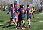 F.C. Barcelona 31 v 27 Getxo Artea R.T - 19 February 2017