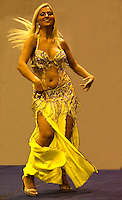 Cultural Dance performance by belly dancer from Turkey
