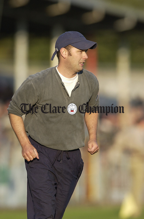 Fergus O Loughlin team trainer