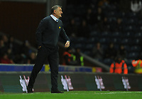 Blackburn Rovers manager Tony Mowbray shouts instructions to his team from the dug-out <br /> <br /> Photographer Kevin Barnes/CameraSport<br /> <br /> The EFL Sky Bet Championship - Blackburn Rovers v Wigan Athletic - Tuesday 12th March 2019 - Ewood Park - Blackburn<br /> <br /> World Copyright © 2019 CameraSport. All rights reserved. 43 Linden Ave. Countesthorpe. Leicester. England. LE8 5PG - Tel: +44 (0) 116 277 4147 - admin@camerasport.com - www.camerasport.com