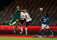Pepe Reina  during the  italian serie a soccer match,between SSC Napoli and Atalanta      at  the San  Paolo   stadium in Naples  Italy , August 27, 2017