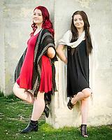 Alyssa and Katie Pope