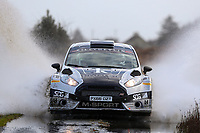 2nd February 2020; Galway, Galway, Ireland; Irish Tarmac Rally Championship, Galway International Rally; Stephen Wright and Liam Moynihan (Ford Fiesta R5) finish in 6th place overall