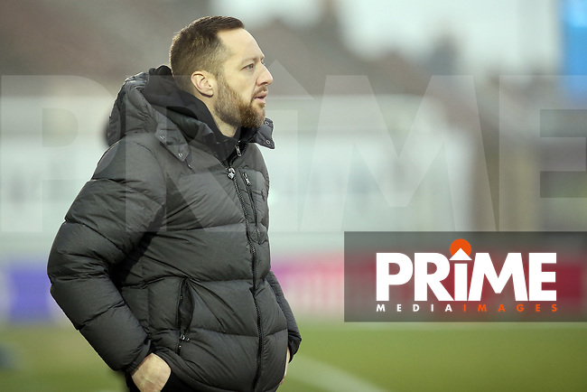 Ben Garner manager of Bristol Rovers during the Sky Bet League 1 match between Bristol Rovers and Fleetwood Town at the Memorial Stadium, Bristol, England on 25 January 2020. Photo by Dave Peters / PRiME Media Images.