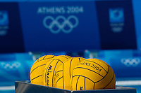 Athens, GREECE. Water Polo, at the Athens Aquatic Sports Centre, 26.08.2004  [Photo, Peter Spurrier/Intersport-images].