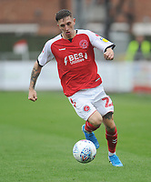 Fleetwood Town's Ashley Hunter<br /> <br /> Photographer Kevin Barnes/CameraSport<br /> <br /> The EFL Sky Bet Championship - Fleetwood Town v AFC Wimbledon - Saturday 10th August 2019 - Highbury Stadium - Fleetwood<br /> <br /> World Copyright © 2019 CameraSport. All rights reserved. 43 Linden Ave. Countesthorpe. Leicester. England. LE8 5PG - Tel: +44 (0) 116 277 4147 - admin@camerasport.com - www.camerasport.com