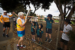 Batonbearer Sandra Jansen carrying the Baton as the Queen's Baton Relay visited Port Lincoln. From 25 January to 2 March 2018, the Queen's Baton will visit every other state and territory before Queensland. As the Queen's Baton Relay travels the length and breadth of Australia, it will not just pass through, but spend quality time in each community it visits, calling into hundreds of local schools and community celebrations in every state and territory. The Gold Coast 2018 Commonwealth Games (GC2018) Queen's Baton Relay is the longest and most accessible in history, travelling through the Commonwealth for 388 days and 230,000 kilometres. After spending 100 days being carried by approximately 3,800 batonbearers in Australia, the Queen's Baton journey will finish at the GC2018 Opening Ceremony on the Gold Coast on 4 April 2018.