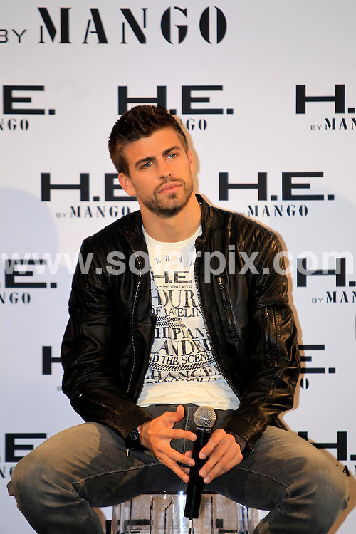 **ALL ROUND PICTURES FROM SOLARPIX.COM**                                             **WORLDWIDE SYNDICATION RIGHTS EXCEPT SPAIN - NO SYNDICATION IN SPAIN**                                                                                  Barcelona footballer Gerard Pique, at a photocall in Barcelona for high street clothes store Mango..The sporting superstar recently revealed his love affair with sexy South American singer Shakira.                                                                      This pic:      Gerard Pique                                                                                        JOB REF:     12973   JMB               DATE:     14.03.11                                                       **MUST CREDIT SOLARPIX.COM OR DOUBLE FEE WILL BE CHARGED**                                                                      **MUST AGREE FEE BEFORE ONLINE USAGE**                               **CALL US ON: +34 952 811 768 or LOW RATE FROM UK 0844 617 7637**
