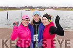 Pictured at the Valentines 10 mile road race in Tralee, on Sunday morning last, were l-r: Ita Prendiville (Castleisland) Sarah Griffin (Tralee) Lorraine McCarthy Martin (Castleisland).