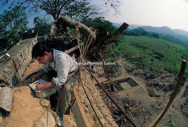 David Stuart, epigrapher; Copan; Honduras; Maya; Ruta Maya