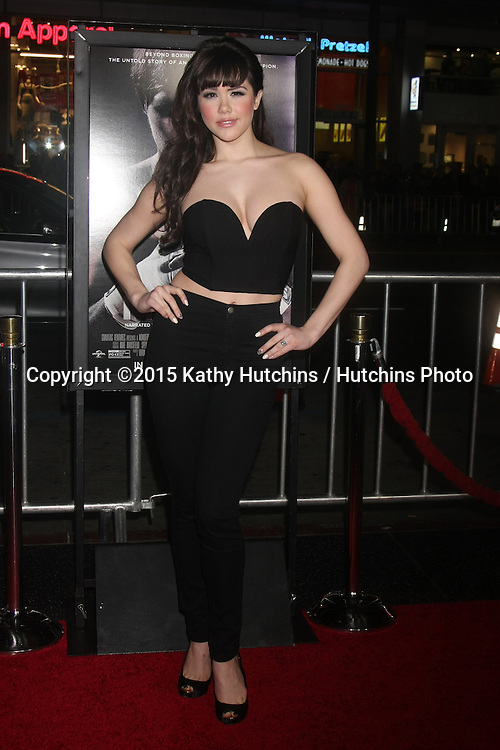 "LOS ANGELES - JAN 20:  Claire Sinclair at the ""Manny"" Los Angeles Premiere at a TCL Chinese Theater on January 20, 2015 in Los Angeles, CA"
