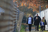 AFC Fylde fans arrive at the ground during Kingstonian vs AFC Fylde, Emirates FA Cup Football at King George's Field on 30th November 2019