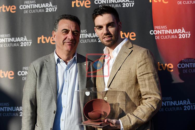 Premis Dol&ccedil;os Continuara de Cultura, Edicio 2017.<br /> Davis Andres.