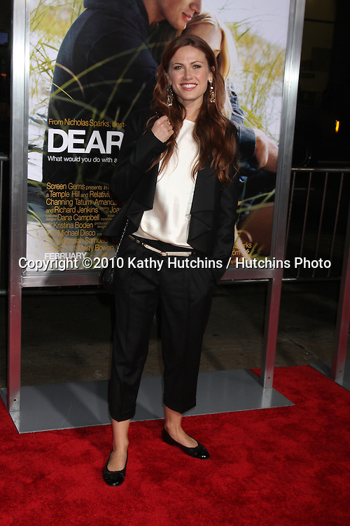 "Vail Bloom.arriving at the ""Dear John"" Premiere.Grauman's Chinese Theater.Los Angeles, CA.February 1, 2010.©2010 Kathy Hutchins / Hutchins Photo...."