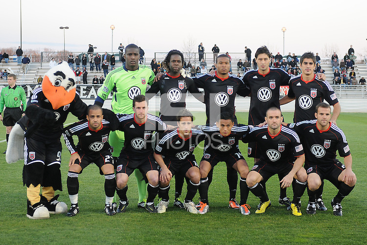 DC United starting elven.  DC United defeated The Philadelphia Union in penalty kicks 4-2 at TheLamar Hunt U.S. Open Cup match, at Maryland SoccerPlex, Wednesday April 6, 2011.