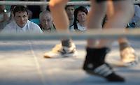 Boxen in Delitzsch, Ostdeutsche Meisterschaft und Rosenpokal im Kultur- und Sportzentrum.   im Bild: .Foto: Alexander Bley