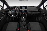 Stock photo of straight dashboard view of 2018 Subaru WRX Base 4 Door Sedan