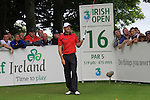 Padraig Harrington teeing off on the 16th tee on day two of the 3 Irish Open, at the Killarney Golf and Fishing Club, Killarney, Ireland.Picture Fran Caffrey/www.golffile.ie.