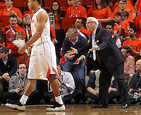 North Carolina head coach Roy Williams during an NCAA basketball game Monday Jan. 20, 2014 in Charlottesville, VA. Virginia defeated North Carolina 76-61.