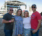 Matt, Caity, Kelly and Joey during the Reno Rodeo Concert on Wednesday night, June 19, 2019.