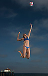 Edge:  Kerri Walsh<br /> Workout<br /> Manhattan Beach, CA, USA<br /> 6/2/2014<br /> X158301 TK1<br /> Credit: Donald Miralle
