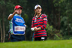 Min Sun Kim of Korea in action during the Hyundai China Ladies Open 2014 Pro-am on December 10 2014, in Shenzhen, China. Photo by Xaume Olleros / Power Sport Images