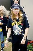 Aug 20, 1988: GUNS N ROSES - Backstage at Monsters of Rock Castle Donington UK