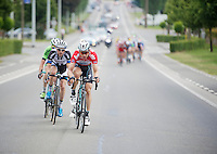late in the race (just a few km to go) overall leader Tony Martin (DEU/OPQS) makes a move himself by escaping from the lead group <br /> <br /> 2014 Belgium Tour<br /> (final) stage 5: Oreye - Oreye (179km)