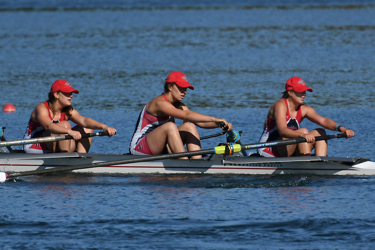 May 13, 2017; Gold River, CA, USA; I Four Saint Mary's Gaels during the WCC Rowing Championships at Lake Natoma.