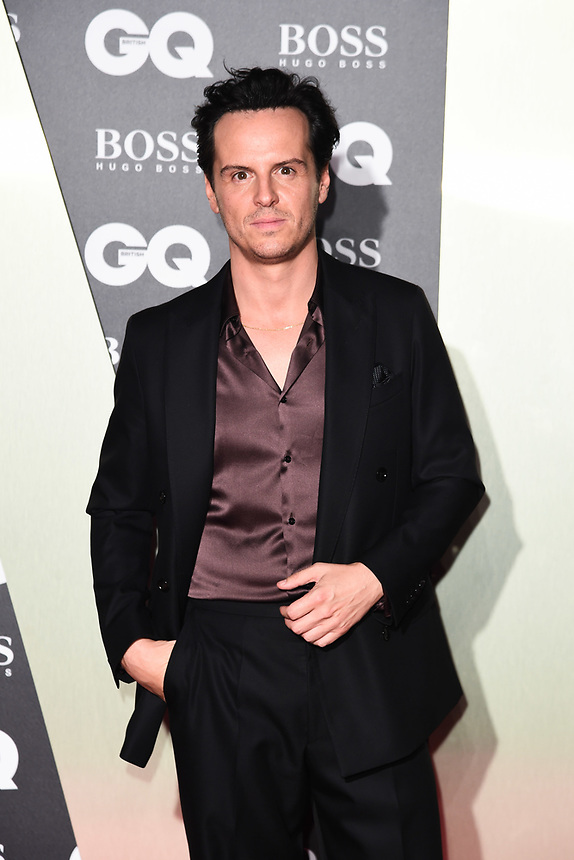 Andrew Scott<br /> arriving for the GQ Men of the Year Awards 2019 in association with Hugo Boss at the Tate Modern, London<br /> <br /> ©Ash Knotek  D3518 03/09/2019