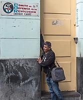 A tired revolutionary?  La Habana Vieja