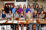 Marylin Brosnan (seated 4th from left) from Tralee leaving Berth Warner going to Resilence in Listowel enjoying a night out with friends in Croi Restuarant on Saturday.