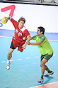 Daisuke Miyazaki (JPN), OCTOBER 31, 2011 - Handball : Daisuke Miyazaki of Japan plays during the Asian Men's Qualification for the London 2012 Olympic Games semifinal match between Japan 22-21 Saudi Arabia in Seoul, South Korea.  (Photo by Takahisa Hirano/AFLO)