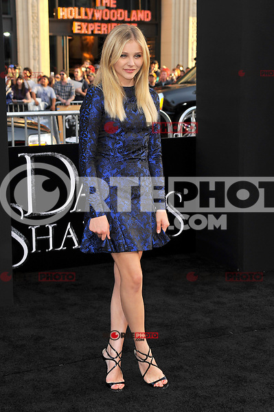 Chloe Grace Moretz at the premiere of Warner Bros. Pictures' 'Dark Shadows' at Grauman's Chinese Theatre on May 7, 2012 in Hollywood, California. ©mpi35/MediaPunch Inc.