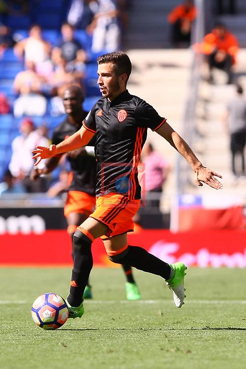 League Santander 2016/2017. Game: 37.<br /> RCD Espanyol vs Valencia CF: 0-1.<br /> Jose Luis Gaya.