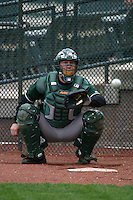 May 6, 2005:  Catcher Chris Snusz of the Altoona Curve before a game at Waterfront Park in Trenton, NJ.  Altoona is the Double-A Eastern League affiliate of the Pittsburgh Pirates.  Photo By Mike Janes/Four Seam Images