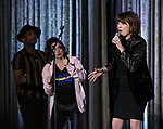 Jelani Remy, Lesli Margherita and Beth Leavel during the BroadwayCON 2020 First Look at the New York Hilton Midtown Hotel on January 24, 2020 in New York City.