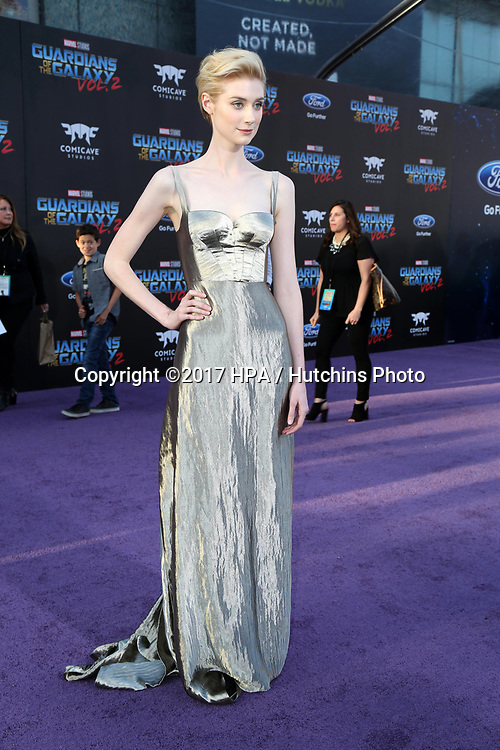 "LOS ANGELES - APR 19:  Elizabeth Debicki at the ""Guardians of the Galaxy Vol. 2"" Los Angeles Premiere at the Dolby Theater on April 19, 2017 in Los Angeles, CA"