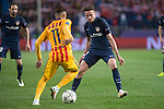 Atletico de Madrid's Saul Ñiguez and FC Barcelona Neymar during Champions League 2015/2016 Quarter-Finals 2nd leg match. April 13, 2016. (ALTERPHOTOS/BorjaB.Hojas)