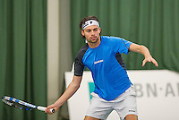 Rotterdam, Netherlands, Januari 24, 2016,  ABNAMROWTT Supermatch, Matthew Pierot (NED)<br /> Photo: Tennisimages/Henk Koster