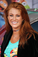 "HOLLYWOOD, LOS ANGELES, CA, USA - MARCH 11: Angie Everhart at the World Premiere Of Disney's ""Muppets Most Wanted"" held at the El Capitan Theatre on March 11, 2014 in Hollywood, Los Angeles, California, United States. (Photo by Xavier Collin/Celebrity Monitor)"