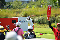 SINGAPORE - MARCH 02: Nasa Hataoka of Japan on the 5th tee during the third round of the HSBC Women's World Championship 2019 at Sentosa Golf Club - Tanjong Course, Singapore on March 02, 2019.<br /> .<br /> .<br /> .<br /> (Photo by: Naratip Golf Srisupab/SEALs Sports Images)<br /> .<br /> Any image use must include a mandatory credit line adjacent to the content which should read: Naratip Golf Srisupab/SEALs Sports Images