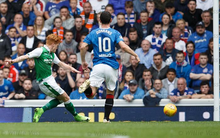 Simon Murray scores for Hibs